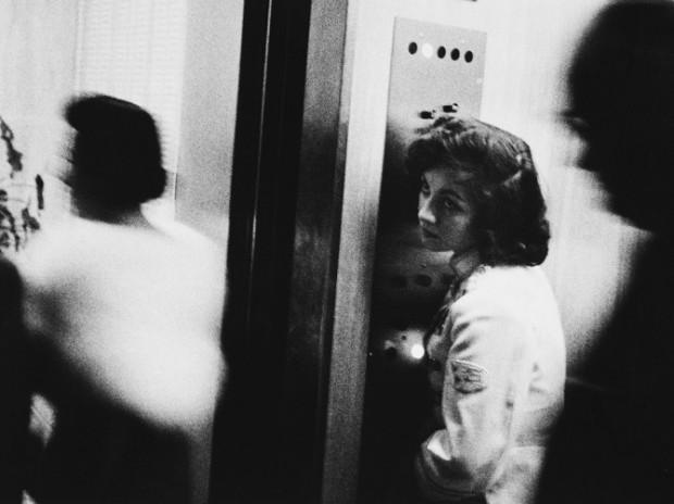 Elevator, Miami Beach, 1955