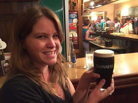 First Guinness in Eyeries Village on the Beara Peninsula