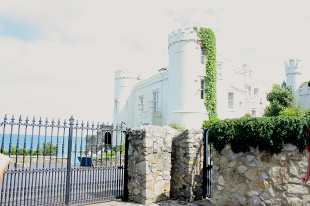 Cliff Castle in Dalkey, IRE