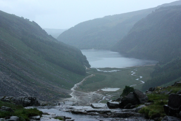 "Gleann Dá Loch, ""Valley of the Two Lakes"""